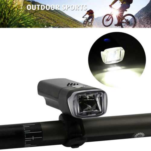 Waterproof Bike Bicycle Cycling Safety Head Flashing Lights Lamps 3 Modes AAA