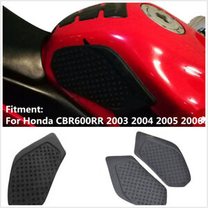 Motorcycle-Tank-Traction-Pad-Side-Gas-Knee-Grip-sticker-for-honda-cbr600rr-03-06