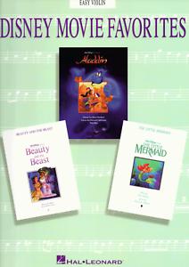 DISNEY-FILM-SONGS-EASY-VIOLIN-Songbook-Sheet-Music-Book-Shop-Soiled