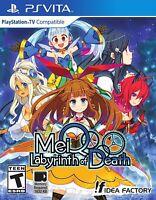 MeiQ: Labyrinth of Death (Sony PlayStation Vita, 2016)