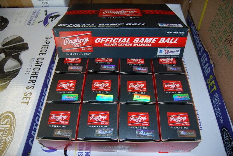 Dozen Rawlings ROMLBSTFL16 Spring Training Florida Baseball Official MLB ROMLB
