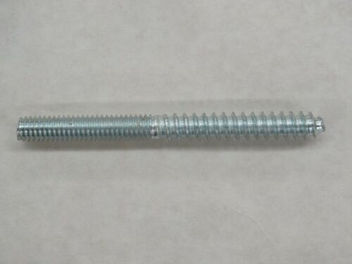 "Lot of 6 Steel Hanger Bolts 5//16/""-18 Machine Thread With Lag Screw Threading"