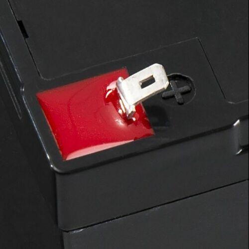 Ultramax 6V 10AH scellé batterie rechargeable sécurité incendie alarme systèmes