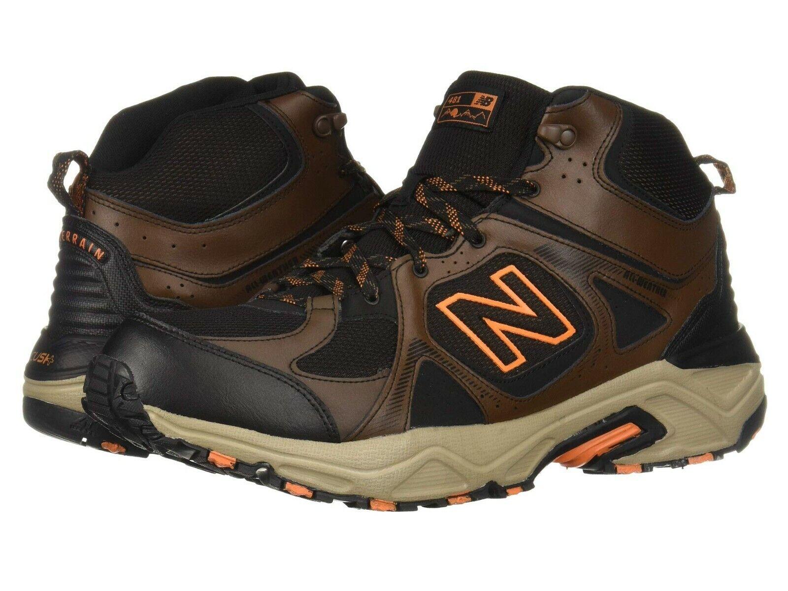 Nib New Balance HERREN MT481v3 481 Mittelhoch Trail Stiefel Schuhe Newton Grat
