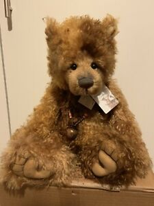 Charlie Bears Lug 'oles Mohair Isabelle Collection Limited Edition Bnwt & Bag Dolls & Bears