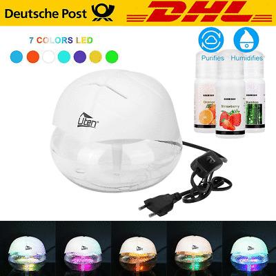 LED Luftbefeuchter Luftreiniger Ultrasch Lufterfrischer Ionisator Aroma Diffuser
