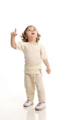 New Wool Kid/'s Winter Tight Thermal Warm Underwear *UNPAINTED* GIRLS BOYS