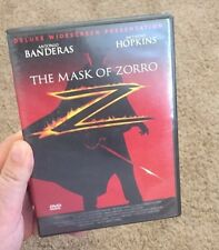 The Mask of Zorro (DVD, 1998, Closed Caption)