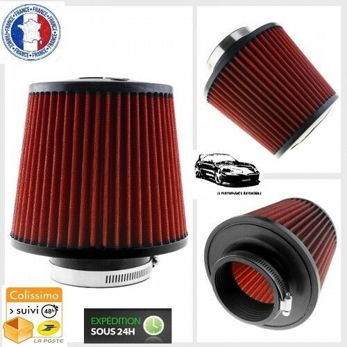 NEUF Filtre à Air d/'Admission Direct Conique Ø 76 mm pour Honda CRX 16S//Vtec