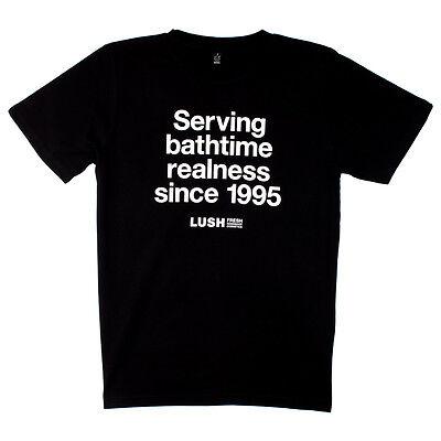 Lush UK Kitchen Serving Bathtime Realness T-Shirt Medium ...