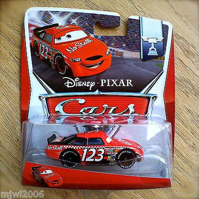 Disney PIXAR Cars NO STALL NO. 123 NEW 2014 PISTON CUP theme diecast 14/16 INTL