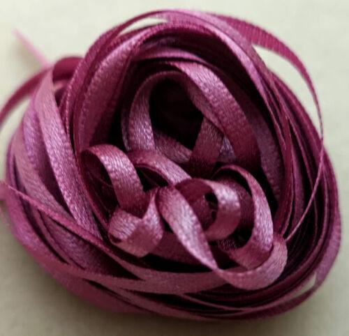 Craft-Ruban 10 Mètres Étroit Ruban-French Rose