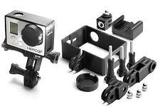Frame Mount Set für GoPro Go Pro HD HERO 3+ Black Tripod Rahmen Zubehör 10teilig