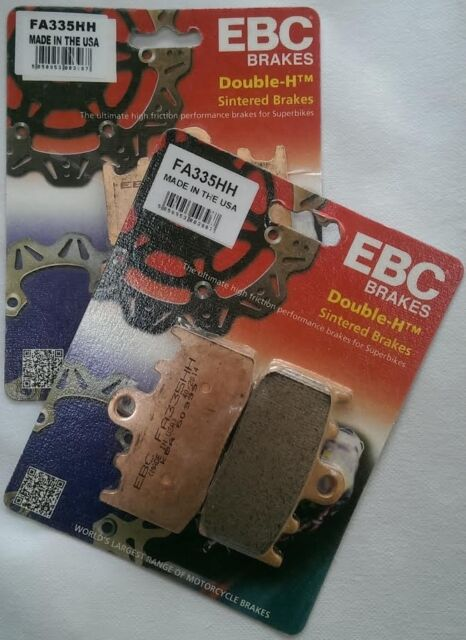 BMW K1200S (2005 to 2008) EBC Sintered Front Brake Pads (FA335HH) (2 x Sets)