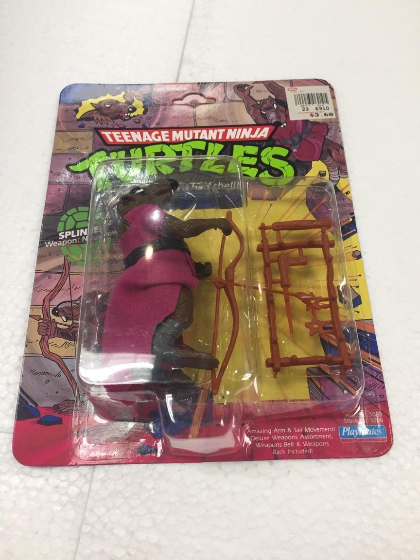 1990 Teenage Mutant Ninja Turtles SPLINTER figure