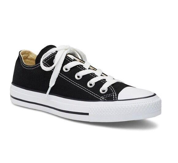 a98ab529d Converse Chuck Taylor All Star Sneakers Black Shoes Unisex Women s 9 Men s  ...