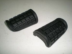 HONDA CB 1100 R STEP RUBBER SET OF 2 NEW OE 50660 50670-MA3-660 without arm