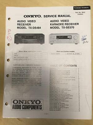 Tx service manual nr616 onkyo ONKYO TX