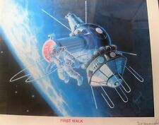 'First Walk in Space' USSR Space Program, Voskhod 2 Signed by Alexey Leonov
