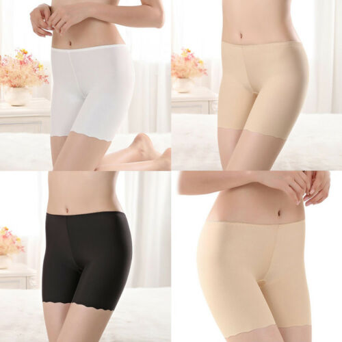 Women Ladies Elastic Seamless Safety Pant Shorts Tight Legging Underwear M//L//XL
