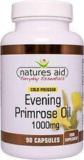 Evening Primrose Oil 1000mg - 90 Caps Natures Aid Omega 6