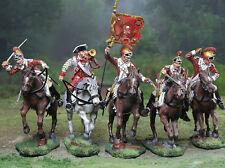 COLLECTORS SHOWCASE CS00882cs - British 17th Dragoons Complete Set of 5 figures