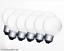 E27-10 x Stoßfeste 15 Watt RC Industrie Tropfenlampe MATT Glühlampe 15W