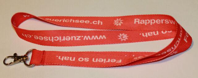 Rapperswil Zürichsee Schlüsselband Lanyard NEU (T263)