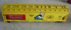 Vintage-HO-Scale-Tyco-Old-Dutch-Cleanser-Covered-Hopper-Car