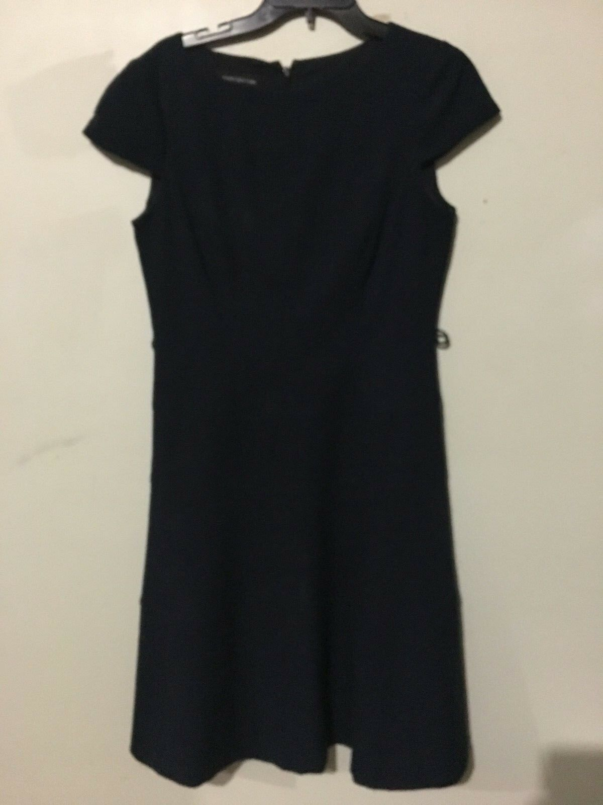 Jones New York schwarz Cap Sleeve Dress damen Größe 10 Cocktail Formal RN 54050