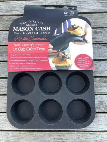 Stick Silicone 12 Cup Cake Tray Mason Cash Non