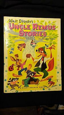 """WALT DISNEY'S """"UNCLE REMUS STORIES"""" GIANT GOLDEN BOOK - FIRST EDITION!"""