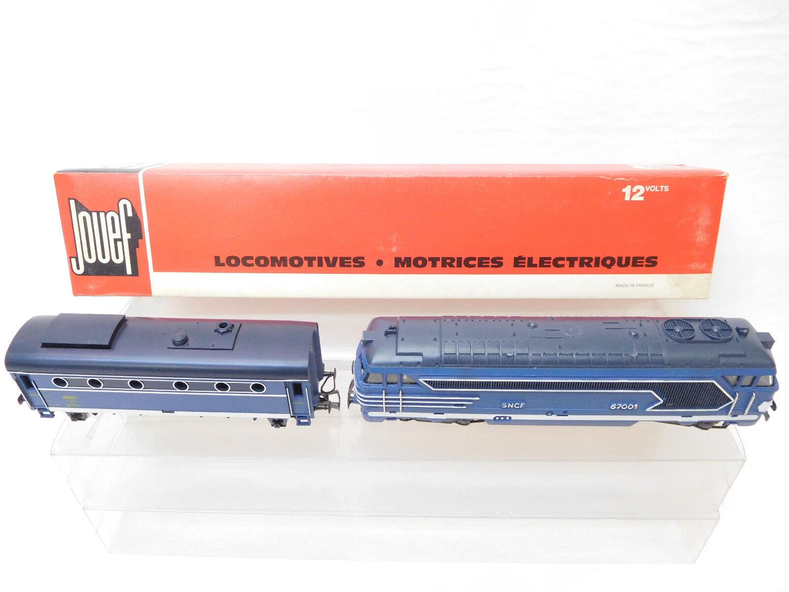 MES-53305 Jouef 8538 H0 Diesellok SNCF 67001 für Bastler Ersatzteil,läuft nicht,