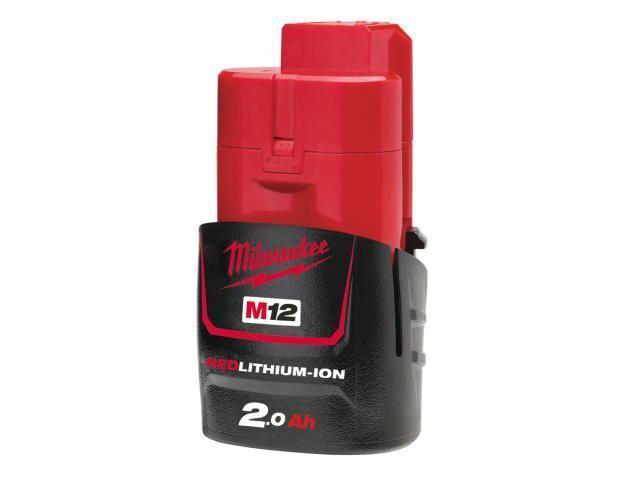 Milwaukee - Batterie M12 B2 rotLITHIUM-ION ™ 12V 2.0Ah Li-Ion