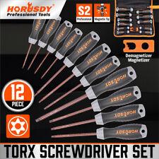 12 Piezas Set Magnético Destornillador Torx T6-T40 Seguridad A Prueba De Manipulación STAR S2 De Acero