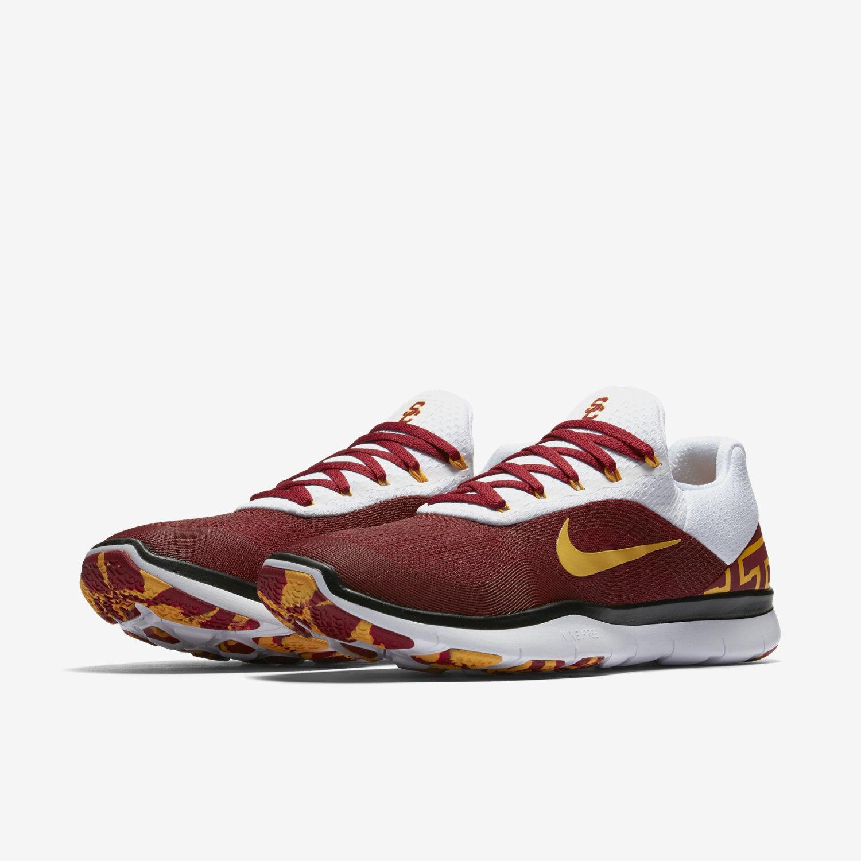 Nike Free Trainer V7 Week Zero USC Trojans Size 14 Shoes AA0881-600 Southern Cal