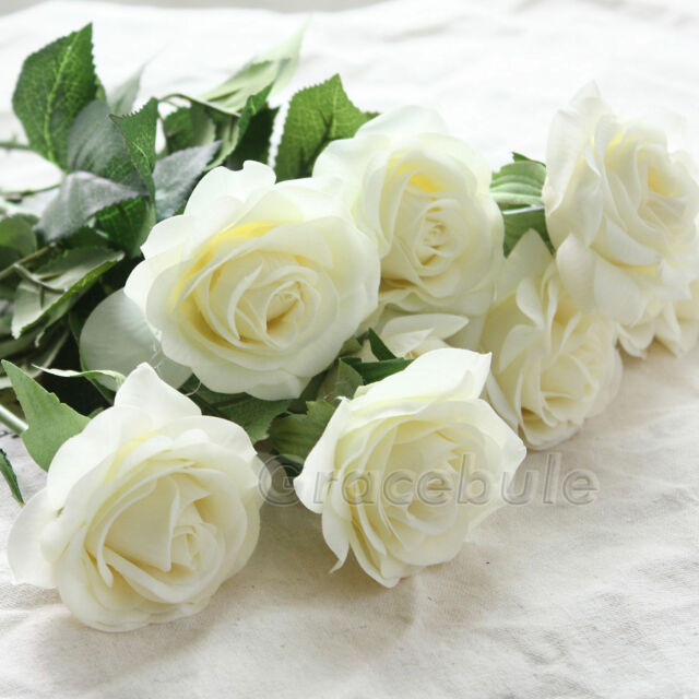 5-20 Head Real Latex Touch Rose Flowers For wedding Home Design Bouquet Decor