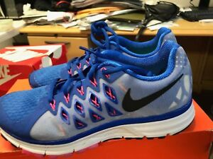 d9c2cab7362b NIKE WMNS AIR ZOOM VOMERO 9 642196 400 Running Shoes Sz 7.5 Blue Org ...