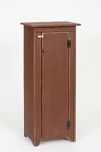 Primitive Rustic Country Wooden Jelly Cabinet - Amish Made - 9 ...
