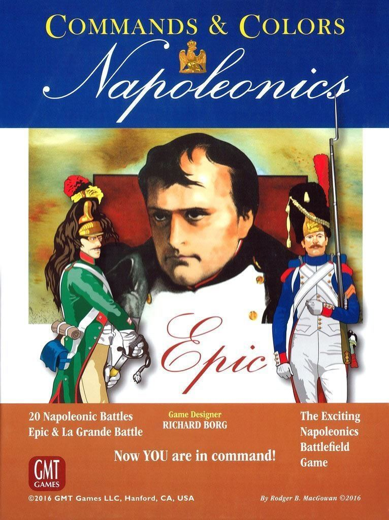 COMMANDS AND COLORS NAPOLEONICS EPIC PLAYERS 2 TO 8