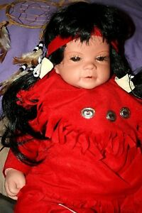 Sensational Details About 19Indian Baby Doll Bisque Bean Bag Type Body Vintage Collectible Caraccident5 Cool Chair Designs And Ideas Caraccident5Info