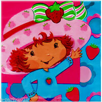 Strawberry Shortcake Best Friends Lunch Napkins (16) Birthday Party Supplies