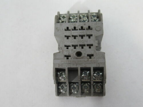 Details about  /Potter /& Brumfield 27E166 Light Gray Relay Socket 5A 300V 14 Pins WOW !