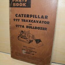 Cat Caterpillar 977 Front End Track Crawler Loader Parts Manual Book 53a Series