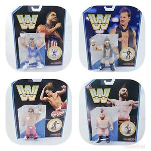 WWE-Retro-Wrestling-Action-Figure-Mattel-With-Scan-amp-Play-QR-Code