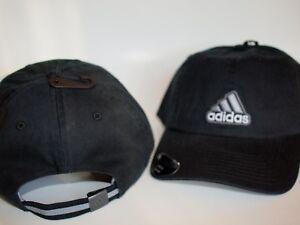 half off c62af 57207 Image is loading Adidas-Baseball-Ultimate-Relax-Fit-Cap-Hat-Black-