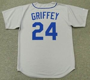 size 40 097ad 42596 Details about KEN GRIFFEY JR. Seattle Mariners 1989 Majestic Cooperstown  Away Baseball Jersey
