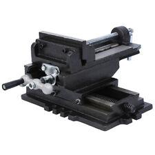 5 2 Way Clamp Cross Drill Press Vise Slide Metal Milling Machine Heavy Duty