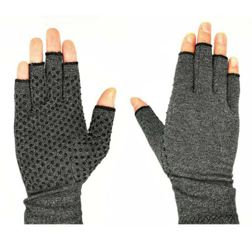 Unisex Therapy Joint Gloves Compression Anti Arthritis Rheumatoid Breathable B