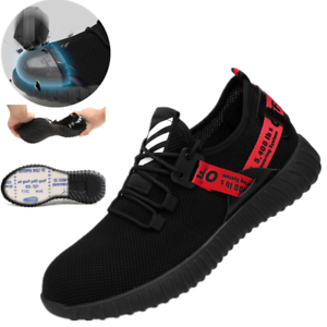 Womens-Work-Boots-Steel-Toe-Safety-Shoes-Sport-Hiking-Shoes-Sneakers-Lightweight